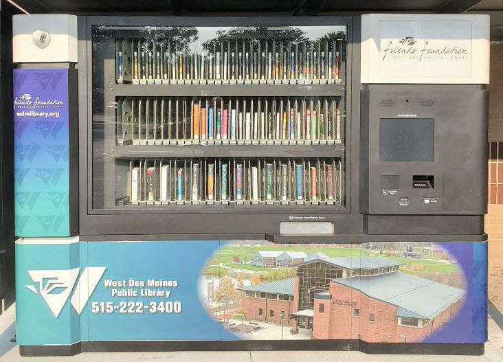 Valley Junction Library Kiosk image