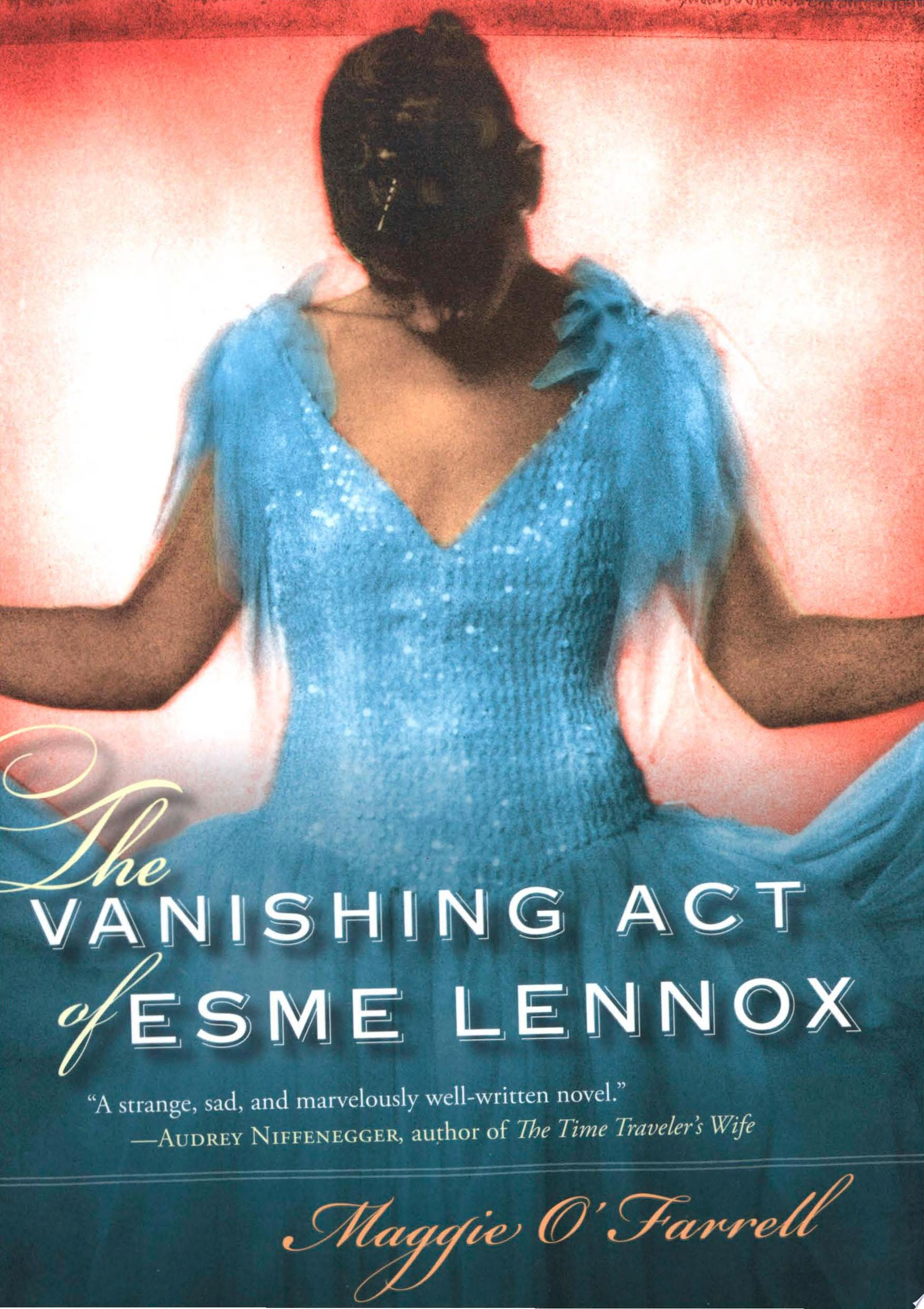 "Image for ""The Vanishing Act of Esme Lennox"""