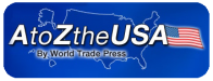 A to Z the USA logo